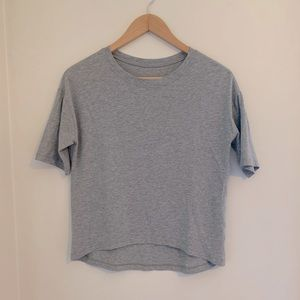 Lululemon Pima cotton, quarter length sleeves
